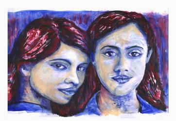 Las hermanas by PabloAleandro