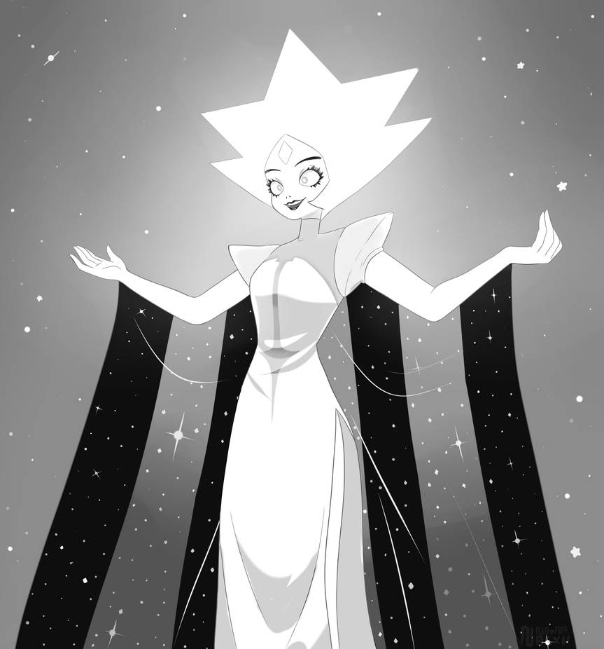 Yesss! We finally get to see White Diamond, after 200,000,000,000 years!   Her design look really interesting but she creeps me out O.o  I have so many questions: How did she know ab...
