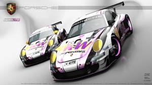 AKR - Porsche 997 GT3 RSR Evo - EIIC2012 by Kinpixed