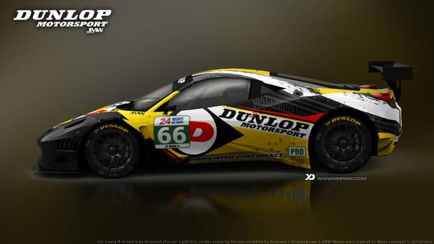 JMW Motorsport - Ferrari 458 Italia GT3 Concept by Kinpixed