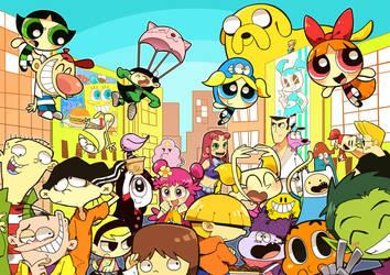 Cartoon Anthology by hakurinn0215