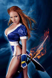 Angy - as Kasumi by LittleAngy