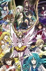 Sailor Moon - SENSHI by YoukaiYume