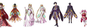 Kinmoku Fashion - Royalty by YoukaiYume