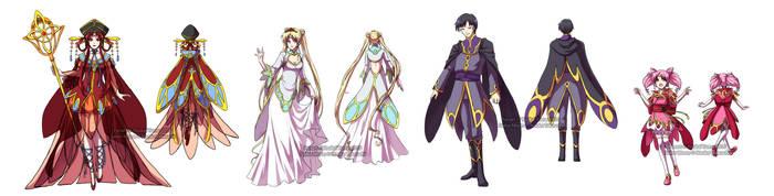 Kinmoku Fashion - Royalty by YoukaiYume