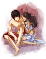 Zutara: With You... by YoukaiYume