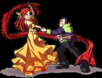 Buzz+Jessie: Dance with Me by YoukaiYume