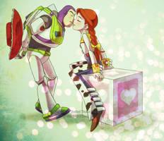 Buzz+Jessie: Ransom by YoukaiYume