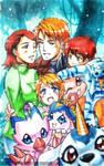 Digimon: Ishida by YoukaiYume