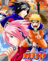 Naruto - Shinobi Sky by YoukaiYume
