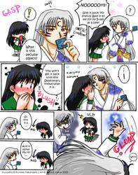 + SessKag + Condom? by YoukaiYume