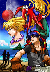 Chrono Cross - Threads of Fate by YoukaiYume