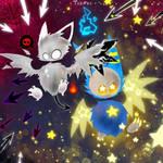 Magic bats by Tnynfox