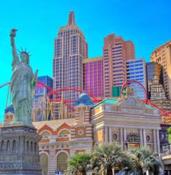 Vegas - New York New York by pedro