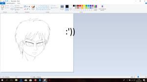 Eren's Head by Weruu-Chan