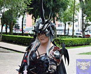 Final Fantasy XV Aranea cosplay by AlexielDeath10