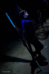 Nightwing Cosplay by AlexielDeath10