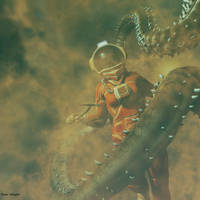 Retro alien by ShaneGallagher
