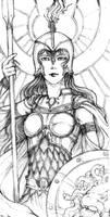 Athena by AutumnGoose