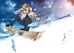 Winter Games: Snowboard Kite by Asterisk-Sky