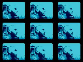 Bald - Bearded - Blue by tijames