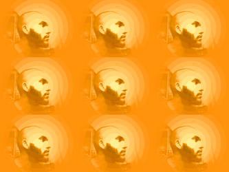 Bald - Bearded - Orange by tijames