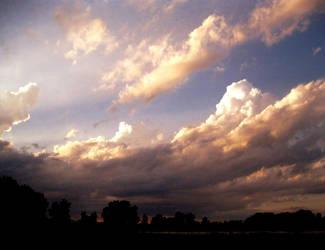 SUNSET OVER ARAPAHOE BEND by KatsKamera