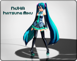 NJXA Hatsune Miku (TRADE CLOSED) by Xoriu
