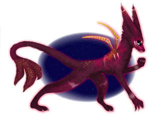 Alien Wolf Adoptable OPEN by InEdgeT