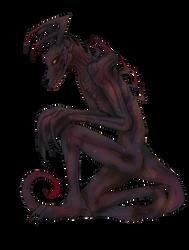 Demon Creature Adoptable OPEN by InEdgeT