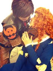 Just one Kiss, Mericcup by BlueWolfWazzu