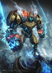 Pacific Rim: Uprising - Indonesian Jaeger by vinrylgrave