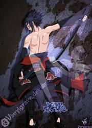 AKatsuki Team 7- Sasuke by vinrylgrave