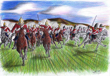 Charge of the Heavy Brigade by Kaiser-Conti