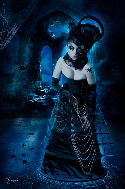 Spider mistress by maelinn