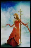 Red goddess by maelinn