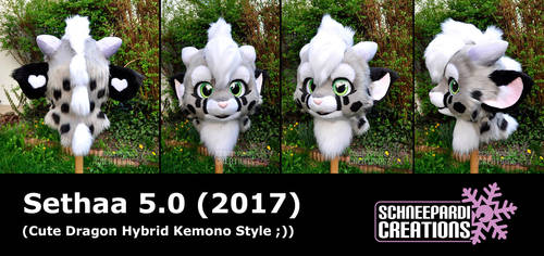 Sethaa 5.0 Kemono Head finished by Sethaa