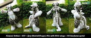 Kemono Sethaa fursuit finished!! by Sethaa