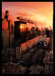 Urus spaceship by Urus-28