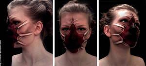 Creepy Make-up 01 by verauko