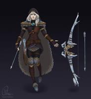 Ashe of Freljord by verauko