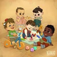 Stranger Kids by verauko