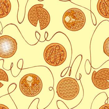 Waffles Pattern by verauko