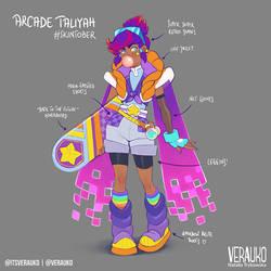 Arcade Taliyah Concept by verauko