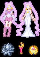Queen Serenity pixel by nads6969