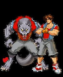 Yugo and His WOLF Beast Mode by SHizukA-Shi