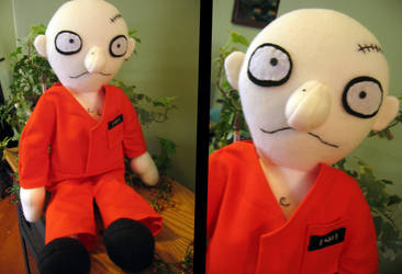 Prisoner custom plushie by greenchylde