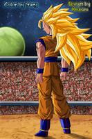 Goku ssj3 U-18 by 9ary