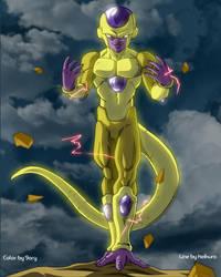 Golden Freezer by 9ary