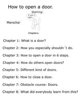 How to open a Door page 1 by LVheid